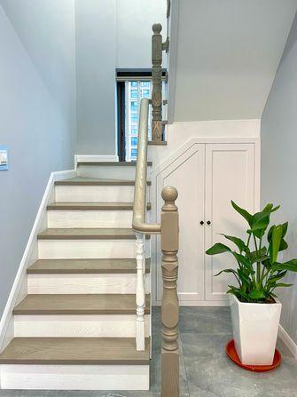 富裕型140平米复式轻奢风格楼梯间图片大全