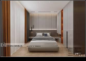 120平米四室四厅现代简约风格卧室欣赏图