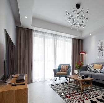 豪华型100平米北欧风格客厅装修案例