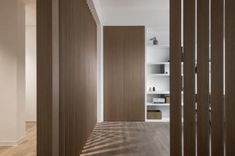 富裕型90平米三室三厅北欧风格走廊欣赏图