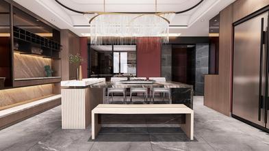 富裕型90平米三室两厅混搭风格餐厅图片大全