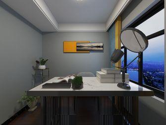 5-10万80平米混搭风格书房装修案例
