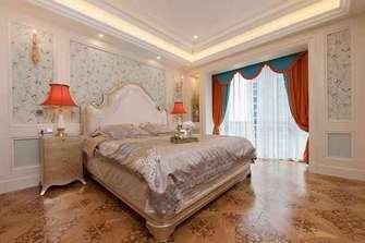 富裕型120平米公寓欧式风格卧室装修案例