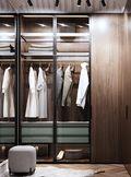 豪华型110平米三室一厅欧式风格衣帽间装修图片大全