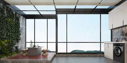 20万以上140平米复式轻奢风格阳台装修效果图