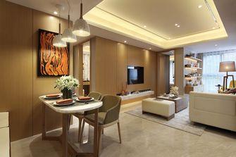 富裕型80平米三室两厅轻奢风格餐厅欣赏图