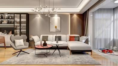 20万以上140平米四室两厅现代简约风格客厅装修图片大全