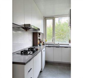 20万以上120平米三室一厅混搭风格厨房图