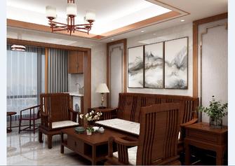 经济型100平米四室一厅中式风格客厅图片大全