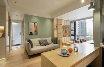 经济型40平米小户型北欧风格客厅装修案例