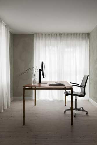 140平米轻奢风格书房图片