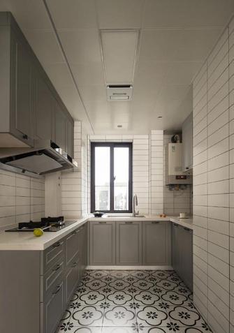 110平米三室两厅新古典风格厨房效果图
