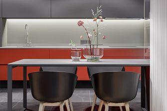 经济型三室一厅现代简约风格餐厅欣赏图