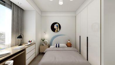 富裕型110平米三室一厅轻奢风格青少年房欣赏图
