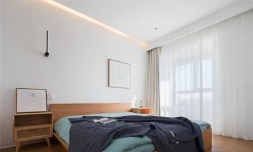 富裕型90平米三室三厅北欧风格卧室欣赏图