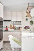富裕型100平米日式风格厨房装修效果图