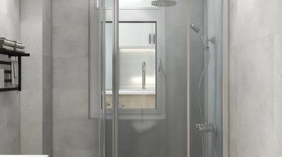 经济型60平米公寓日式风格卫生间装修效果图