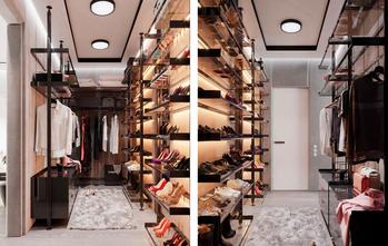 豪华型140平米别墅法式风格衣帽间欣赏图