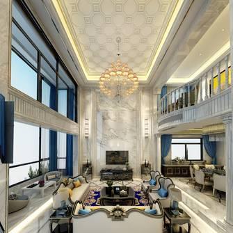 豪华型140平米别墅欧式风格客厅装修图片大全