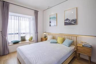 富裕型110平米三混搭风格卧室装修图片大全