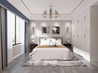 140平米三室两厅美式风格卧室装修案例