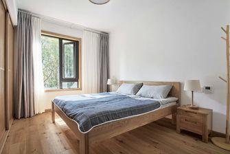 豪华型130平米三室一厅日式风格卧室设计图