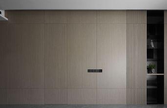富裕型120平米三室两厅现代简约风格储藏室欣赏图