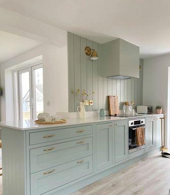 经济型100平米三室两厅田园风格厨房设计图