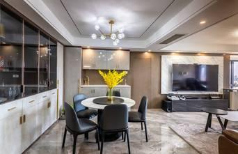 豪华型130平米三轻奢风格餐厅图