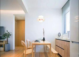 富裕型三室一厅日式风格餐厅图片