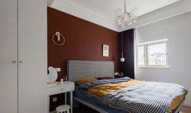 3-5万110平米三室两厅法式风格卧室装修效果图