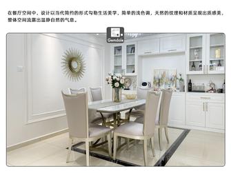 20万以上120平米三室三厅法式风格餐厅效果图