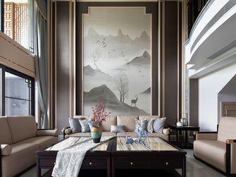 20万以上140平米复式中式风格客厅图