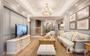 20万以上140平米三室两厅混搭风格客厅装修效果图
