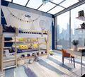 140平米复式中式风格阳光房装修图片大全