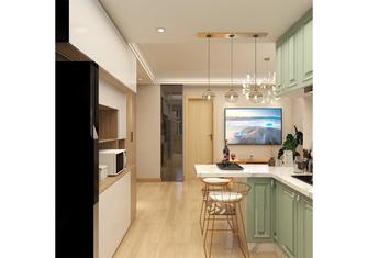 经济型70平米一室一厅日式风格餐厅欣赏图