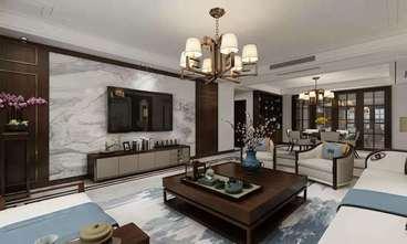 140平米四室四厅中式风格客厅装修图片大全