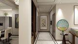 140平米三中式风格走廊设计图