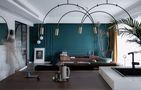15-20万140平米四室一厅混搭风格客厅图片大全