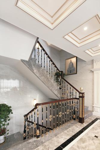 140平米别墅欧式风格楼梯间装修案例