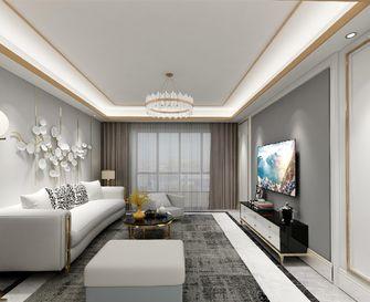 140平米三室一厅混搭风格客厅装修图片大全