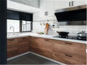 10-15万90平米三室两厅北欧风格厨房欣赏图