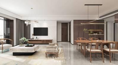 5-10万120平米中式风格客厅装修案例
