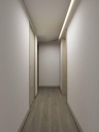 富裕型80平米现代简约风格走廊装修图片大全