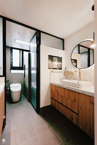 豪华型120平米三室两厅混搭风格卫生间装修图片大全
