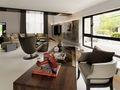 富裕型140平米三室两厅现代简约风格阳光房图片大全