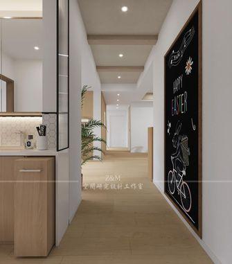 经济型140平米三室两厅日式风格玄关图