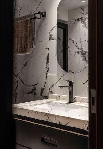 豪华型140平米四室两厅现代简约风格卫生间装修案例