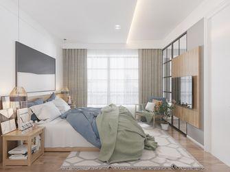 10-15万120平米三室一厅北欧风格卧室欣赏图