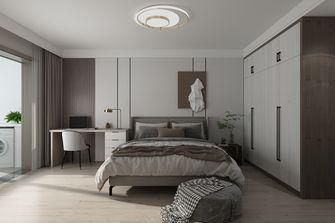 富裕型100平米三室两厅现代简约风格卧室欣赏图